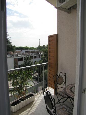 Alba Romana B&B: Balcony