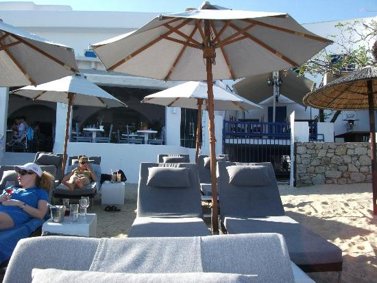 Argo Hotel Mykonos: View from Beach