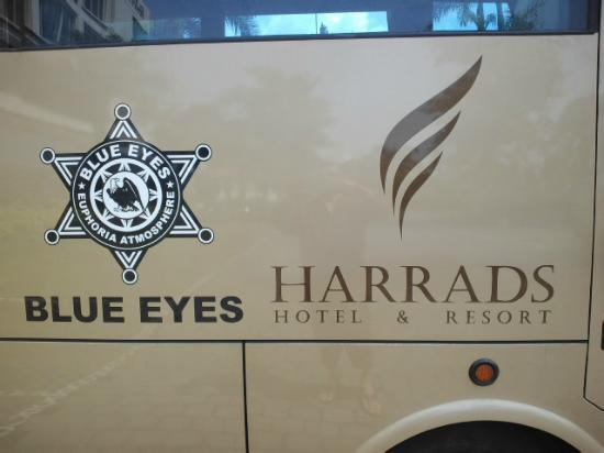 Harrads Hotel Convention and SPA: hotel name