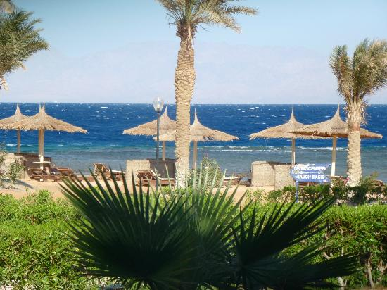 Sea Sun Hotel Dahab: beautiful blue skys and sea