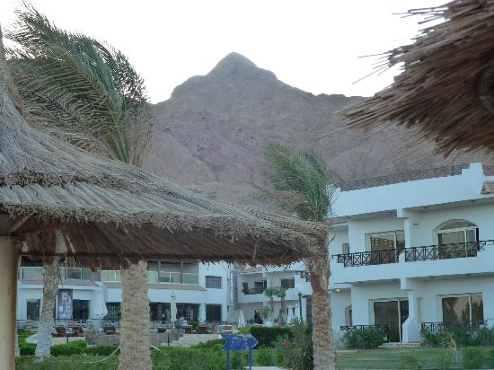 Sea Sun Hotel Dahab : secluded behind the mountains