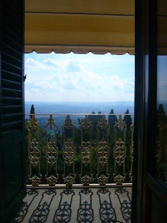 Villa Aurora Hotel : Il balcone della camera con vista sulla cupola del Brunelleschi