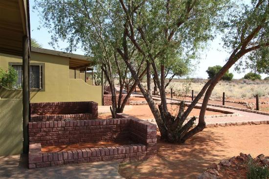 Kalahari Anib Lodge: View from our room