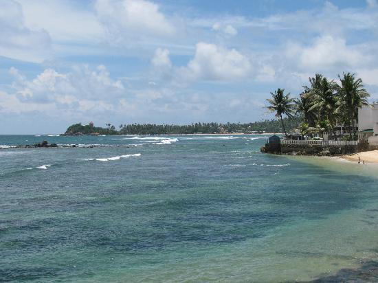 Sri Gemunu Beach Resort: Unawatuna bay