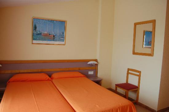Hotel Mercury: habitacion cuadruple