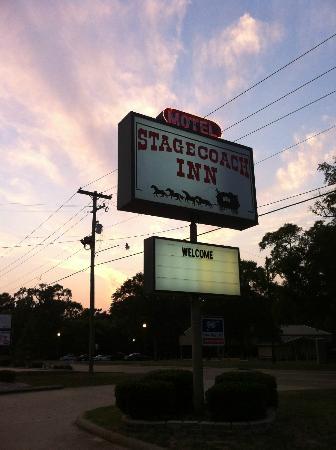 Quality Inn: On the border with Texas.