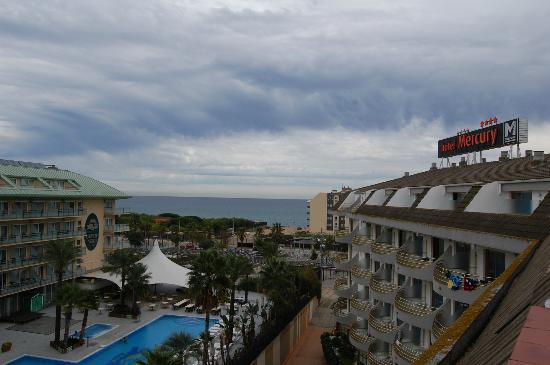 Hotel Mercury: vistas desde la habitacion