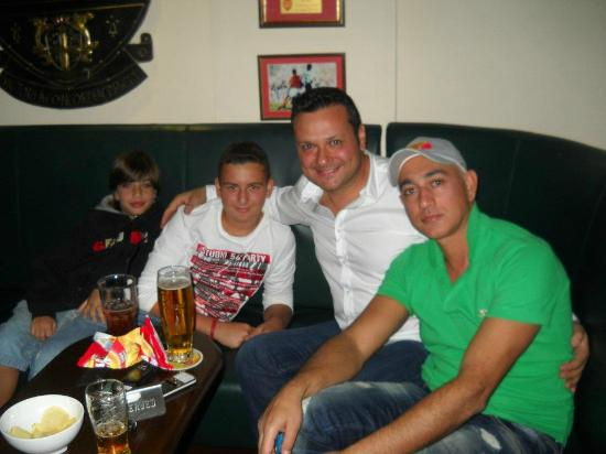The Woodman Sports Pub and Restaurant : Boys Night Out