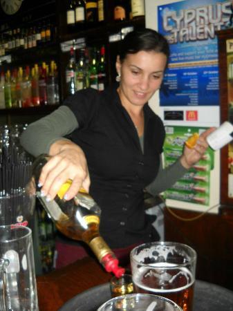 The Woodman Sports Pub and Restaurant : Shots Time