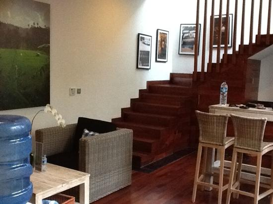The Dipan Resort Petitenget: downstairs area