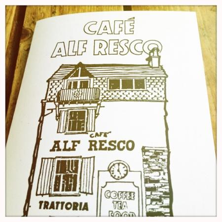 Cafe Alf Resco: menu