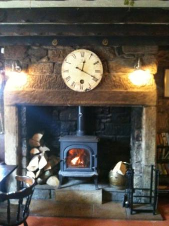 The White Swan: lovely fire