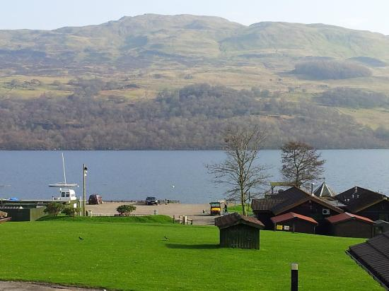 Loch Tay Highland Lodges: View from Ivy Tree Cottage