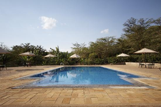 Tloma Mountain Lodge, Tanganyika Wilderness Camps: Lovely pool
