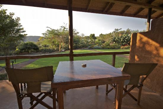 Tloma Mountain Lodge, Tanganyika Wilderness Camps: View from garden view room