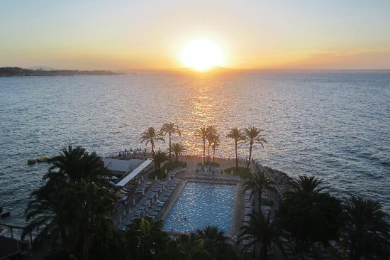 Hotel Riu Palace Bonanza Playa: Sonnenaufgang vom Zimmer 801