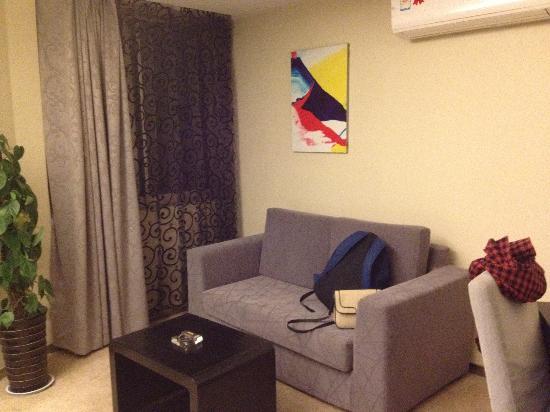 Lemon Hotel Xi'an: sofa