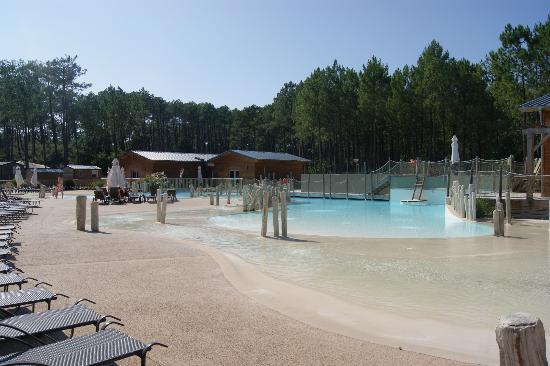 Camping Sandaya Soustons Village: la piscine