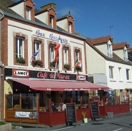 Барфлер, Франция: Cafe de France, Barfleur