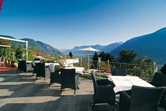 Hotel Marini: Terrasse