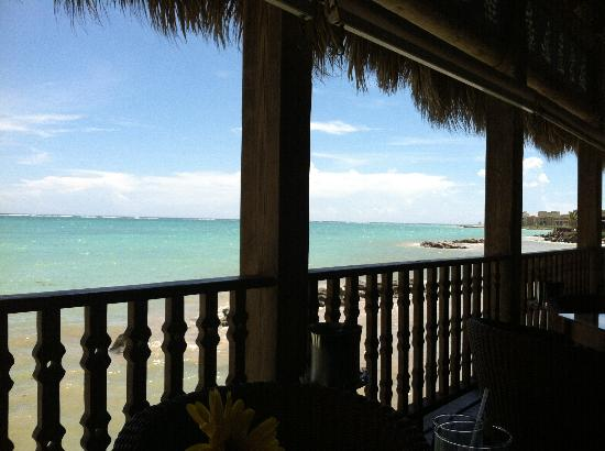 Sanctuary Cap Cana by Playa Hotels & Resorts: View from the ocean front restaurant