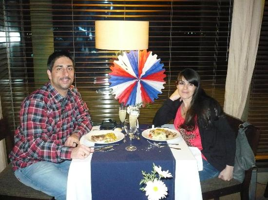 Sonesta Hotel Osorno: Cena dieciochera....