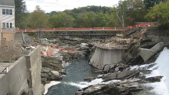Simon Pearce Mill: Bridge Reconstruction