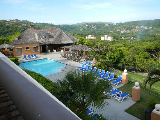 Villas Sol Hotel & Beach Resort: view of the pool/balcony