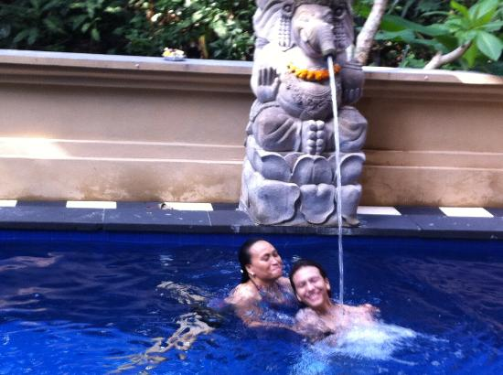 Bembengan Ubud Cottage: Relaxing days in the pool