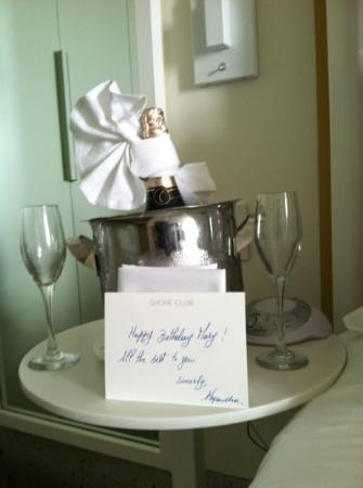Shore Club South Beach Hotel: Let's toast it up baby to that champagne life!!