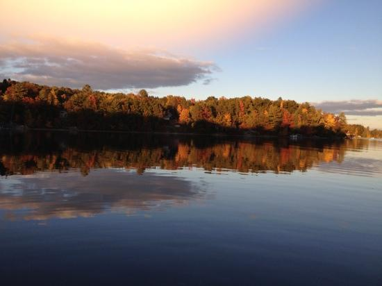 Spider Lake Fall Evening - An Enchanting Place to Live