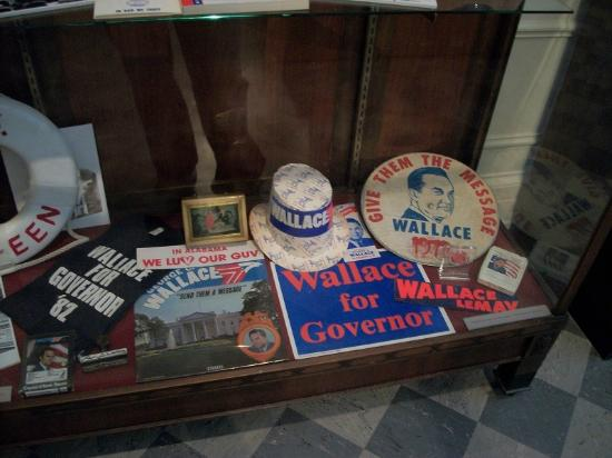 Alabama Department of Archives and History: george wallace campaign memorabilia
