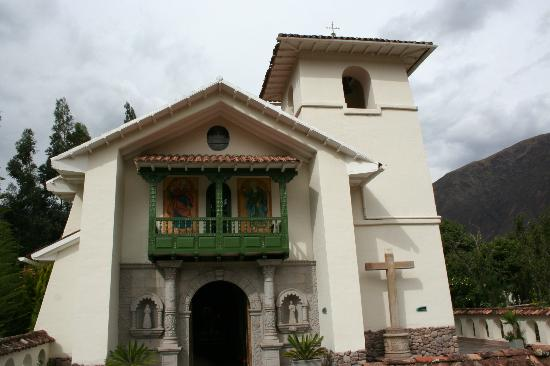 Aranwa Sacred Valley Hotel & Wellness: Church/iglesia