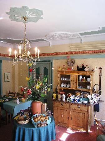 Hotel-Garni Hornburg: Frühstücksraum / breakfast room