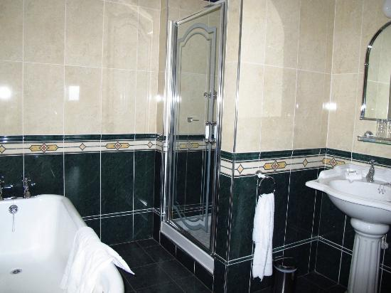 Lochgreen House Hotel: Shower