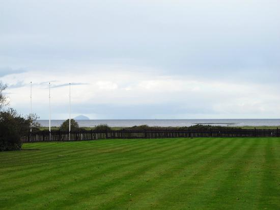 Lochgreen House Hotel: Towards Ailsa Craig