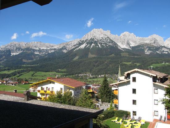 Hotel Der Bär: View from room