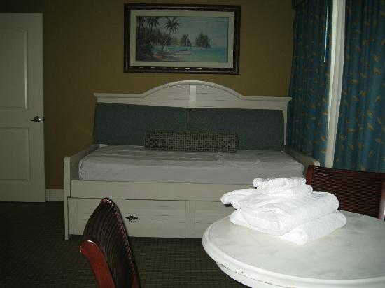 Lighthouse Key Resort and Spa: Bedroom #4 (Trundle Bed)