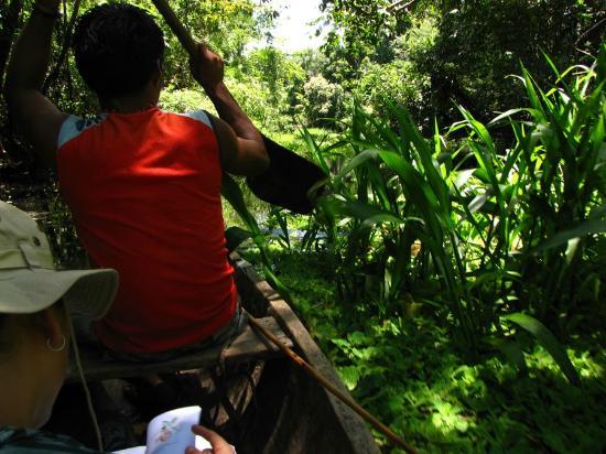 Casa Lupuna: Excursión por el area