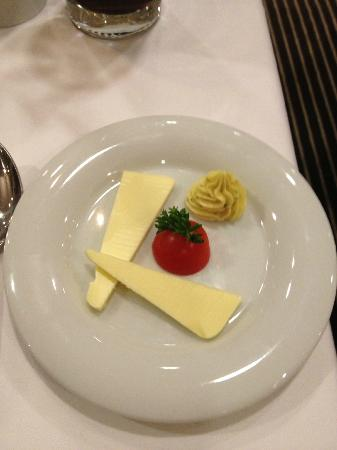 BEST WESTERN PREMIER Hotel Regensburg : Butter, nice little presentation