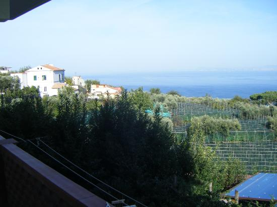 Il Nido Hotel Sorrento: View from our room