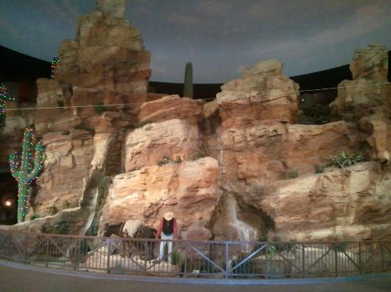 Wild Wild West Casino : View as you enter from the North