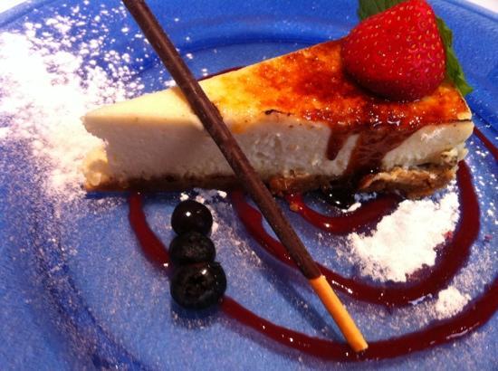 Da Nello: ginger cheesecake.
