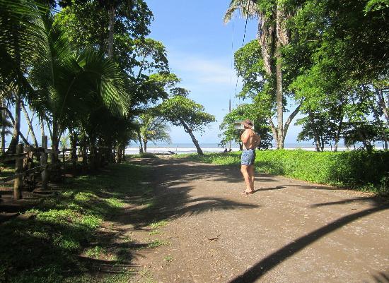 Hotel Playa Bejuco: naar het strand