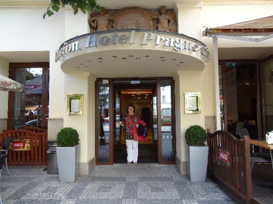 Clarion Hotel Prague City: Перед прогулкой по Праге