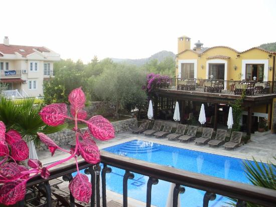 The Olive Tree Restaurant & Bar: View from accommodation to restaurant