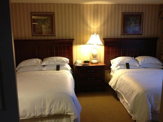 Sheraton Suites Orlando Airport: Double Beds