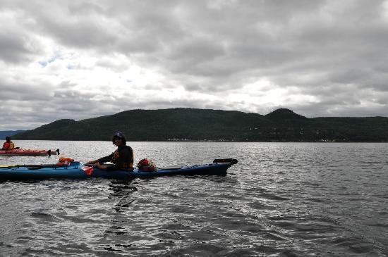 Fjord en kayak: Antoine notre guide