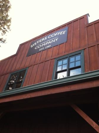Sisters Coffee Company: the front