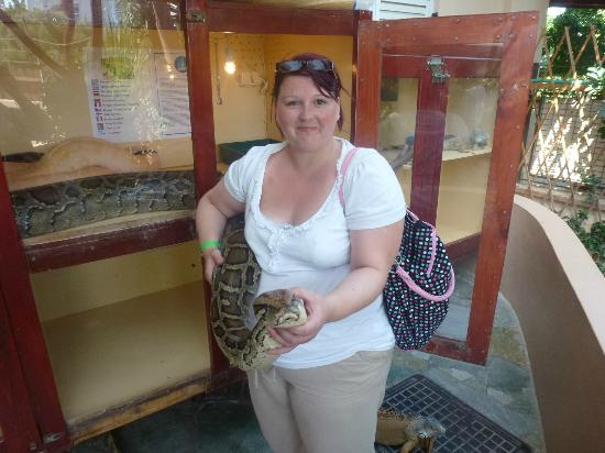 Aquaworld Aquarium & Reptile Rescue Centre: Me and the Python